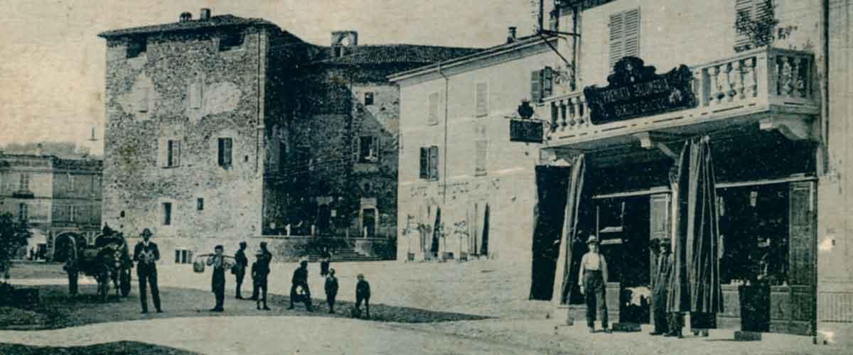 L'antica salumeria Grossetti a Pianello Val Tidone
