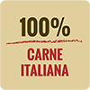 Salume prodotto con carne italiana
