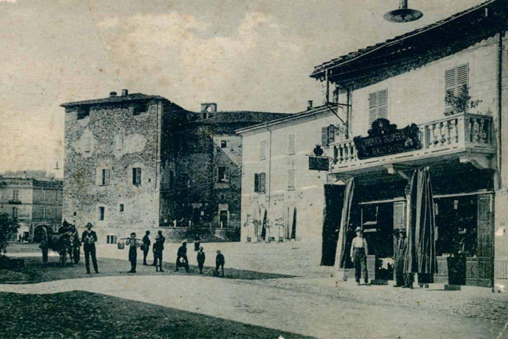 La bottega di Salumi Grossetti a Pianello