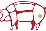 Le parti del maiale usate per il fiocchetto