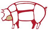 Goletta, i tagli del maiale