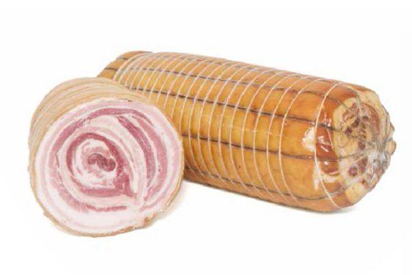 Pancetta cotta di Grossetti