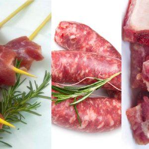 Barbecue box, carne per griglia